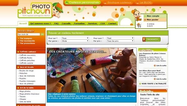 Boutique en ligne de puzzles photo