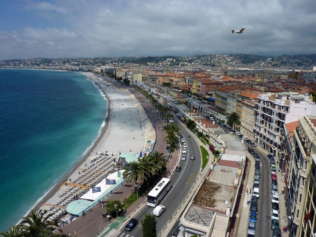 Nice est une des villes emblématiques de la Côte d'Azur.